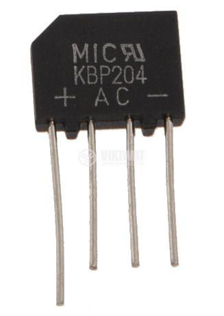 Грец схема 2A/400V, KBP204