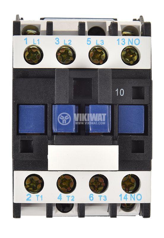 Contactor, three-phase, coil  110VAC, 3PST - 3NO, 32A, CJX2-D32, NO - 4