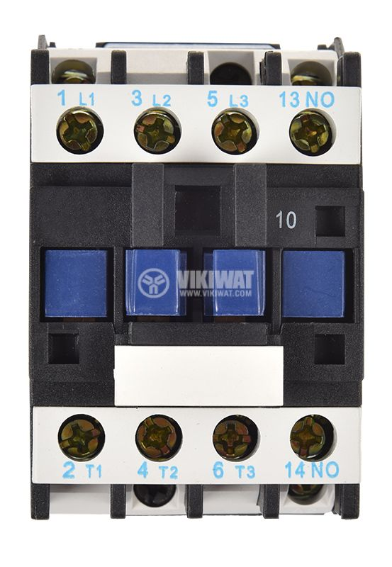 Contactor, three-phase, coil 110VAC, 3PST - 3NO, 25A - 4