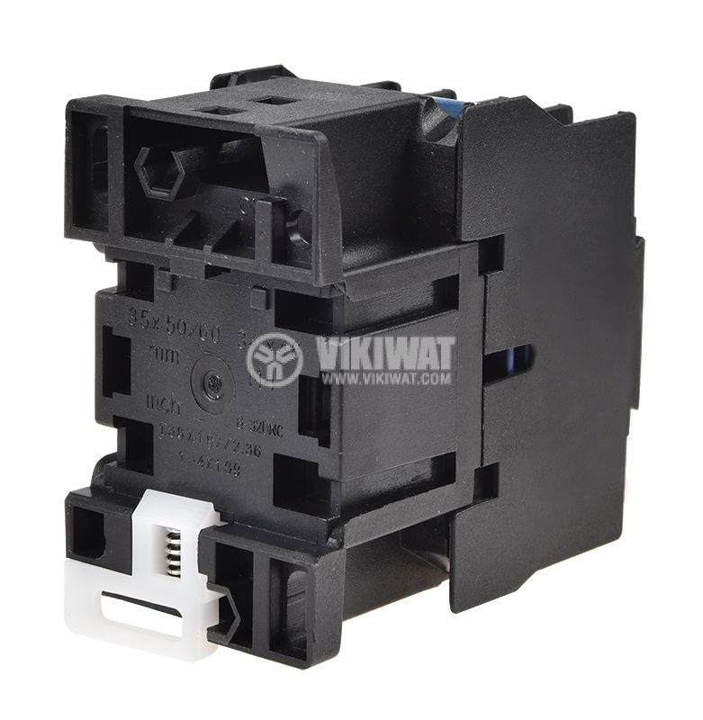 Contactor, three-phase, coil 110VAC, 3PST - 3NO, 25A, CJX2-D25, NO - 5