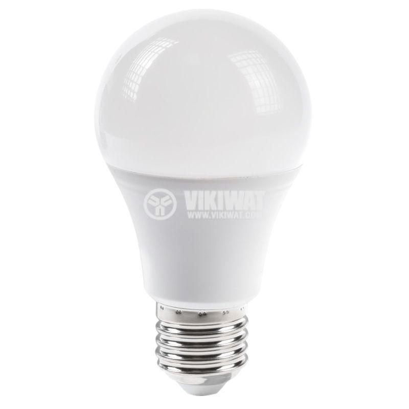 LED лампа 5W, E27, 220VAC, 480lm, 3000K, топлобяла, BA19-0520 - 4