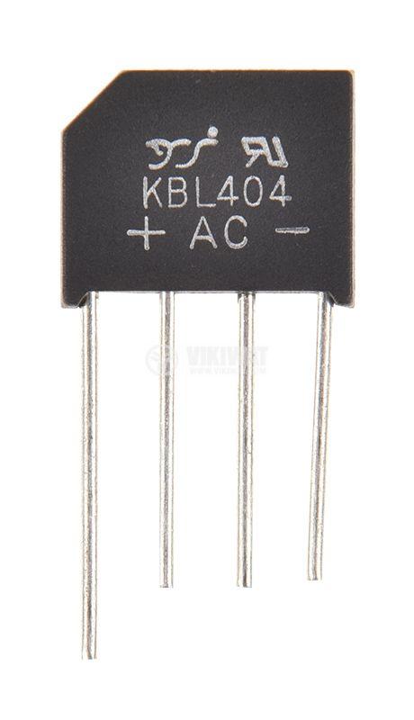 Схема Грец 4A, 400V, KBL404(RS402L) - 1