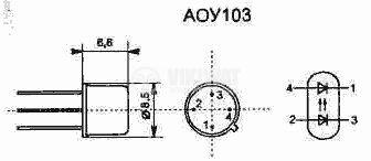 Оптрон  АОУ103А - 2