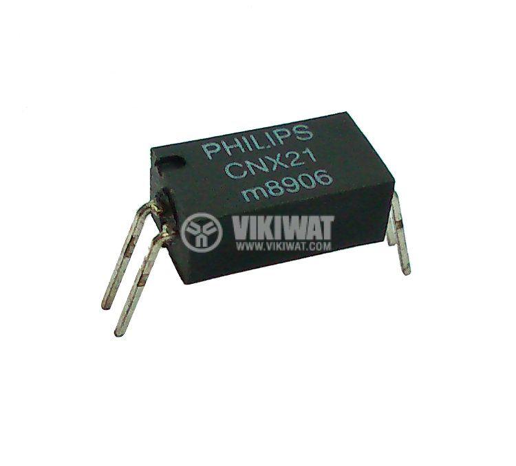 Оптрон CNX21, транзисторен изход, 1 канал, SOT211 - 2