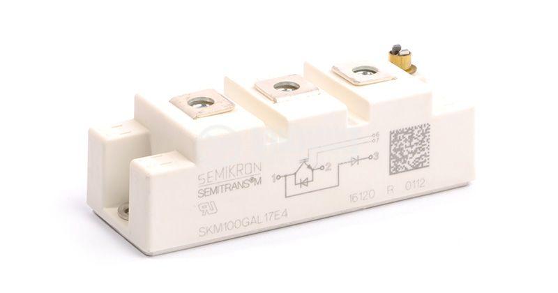 Transistor SKM100GAR123D IGBT 1200 V, 100 A, SEMIKRON - 1