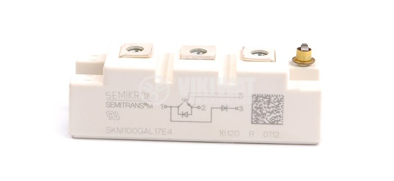 Transistor SKM100GAR123D IGBT 1200 V, 100 A, SEMIKRON - 2