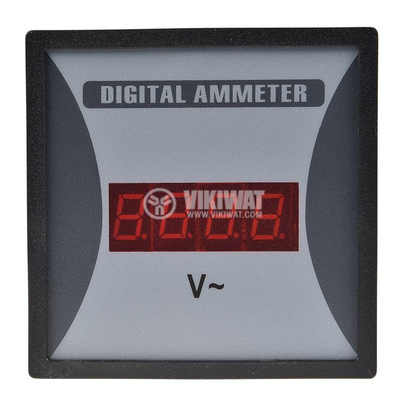 Волтметър SF96 цифров 500V директен 96х96 - 2