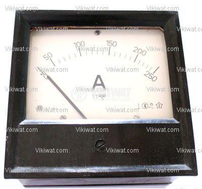 Aмперметър, 250 A, AC, ET144 с външен токов трансформатор 250/5 А