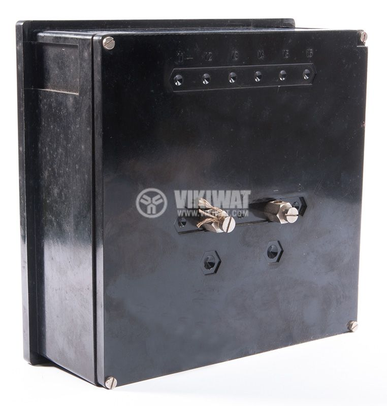 Analogue panel ammeter ET144, 250 A, AC, current transformer operated 250/5 А - 2