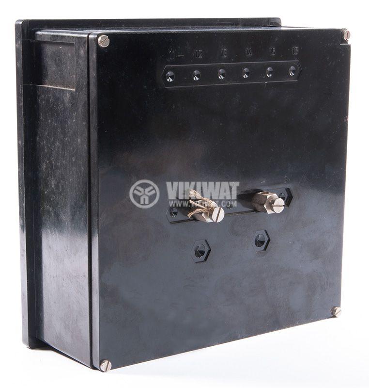 Aмперметър, 250A, DC, ET144 с външен токов трансформатор 250/5 А - 2