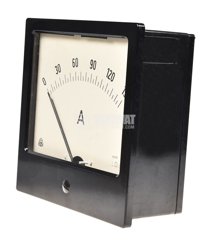 Ammeter with shunt 500A/60mV - 2