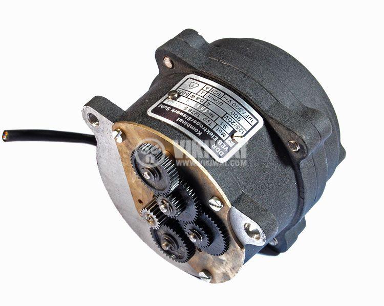 Електрически променливотоков мотор 125/20 V, 0.8 W, 50 Hz, 900 оборота - 1
