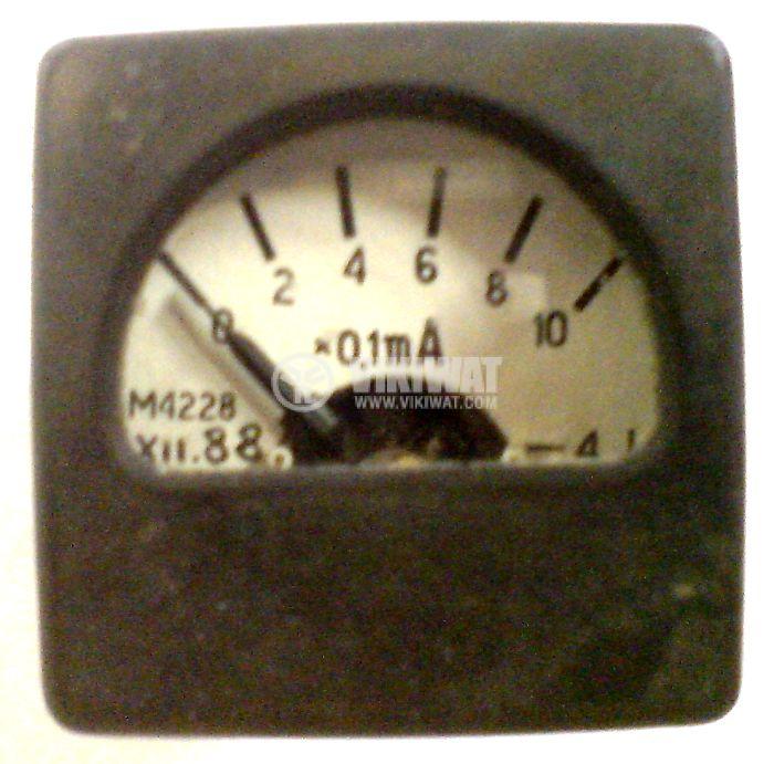 Aмперметър, 1 mA, DC, M4228, директен, влагозащитен