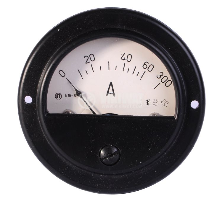 Aмперметър, 0-60 А / 300 A, AC, E15-5, директен - 2