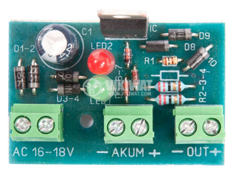 Rechargeable Batteries power supply, B-362 - 1