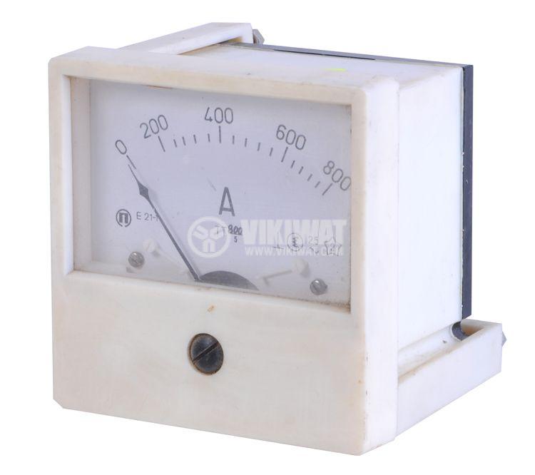 Aмперметър, 800 A, AC E21-1 с външен токов трансформатор 800/5 А