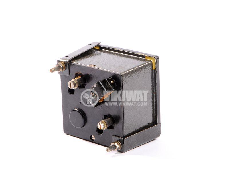 Волтметър, 0/50- 250 VAC,  директен, 1EQ72, размери 72x72 mm - 2