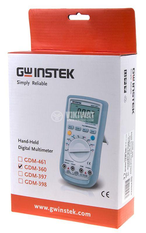 Цифров мултицет GDM-360, LCD(6000) - 5