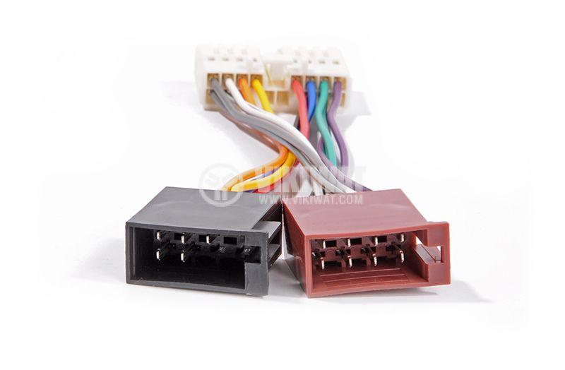 Auto connector HONDA ZRS-98 Connector, ISO, Honda, PIN: 16 - 3