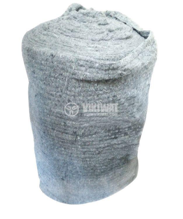 Вата за тонколони, памучна, сива