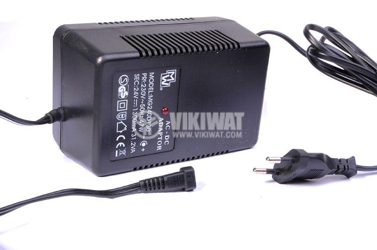 Адаптер, MG240D130, 230 VAC-24 VDC, 1.3 A - 1