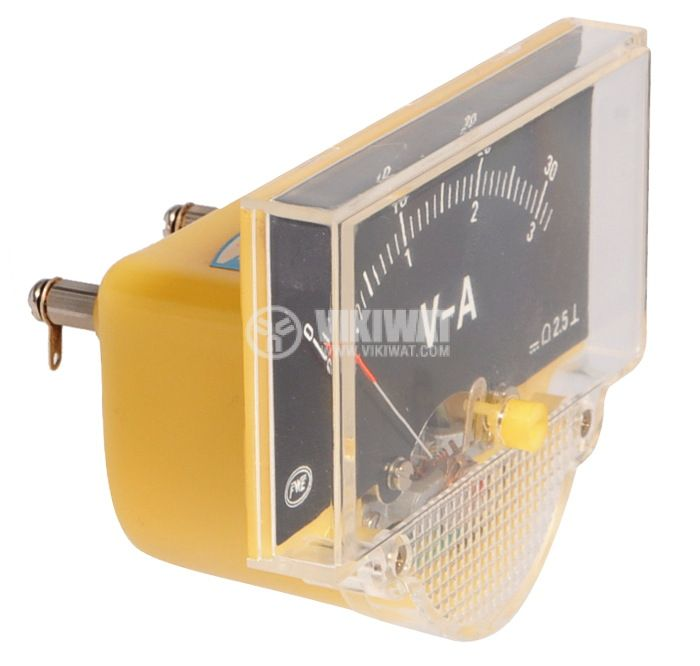 Волт-амперметър, 0-30 VDC / 0-3 A/DC, FWE - 1