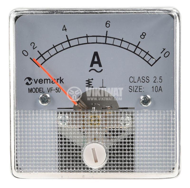 Амперметър 10А, AC, VF-50 - 2