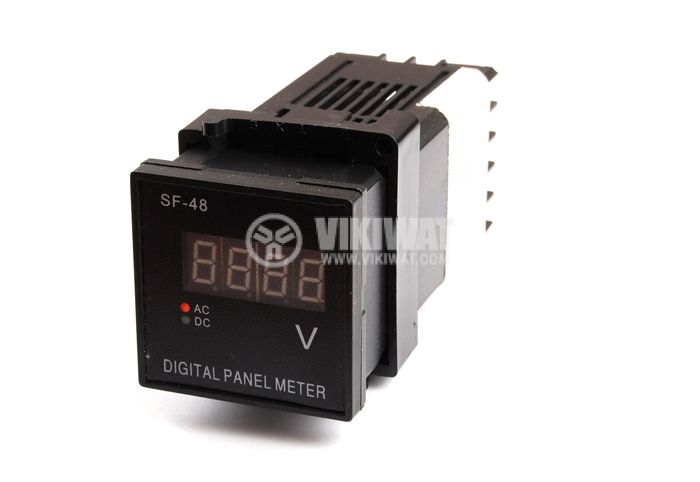 Digital voltmeter, 500 VAC, SF48