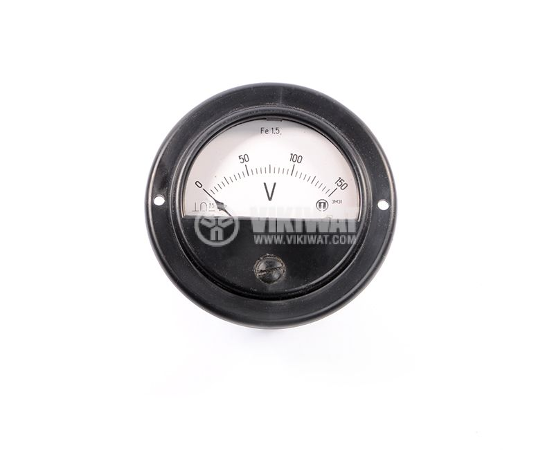 Волтметър, 150V/DC, 3M31, Ф80 mm - 1