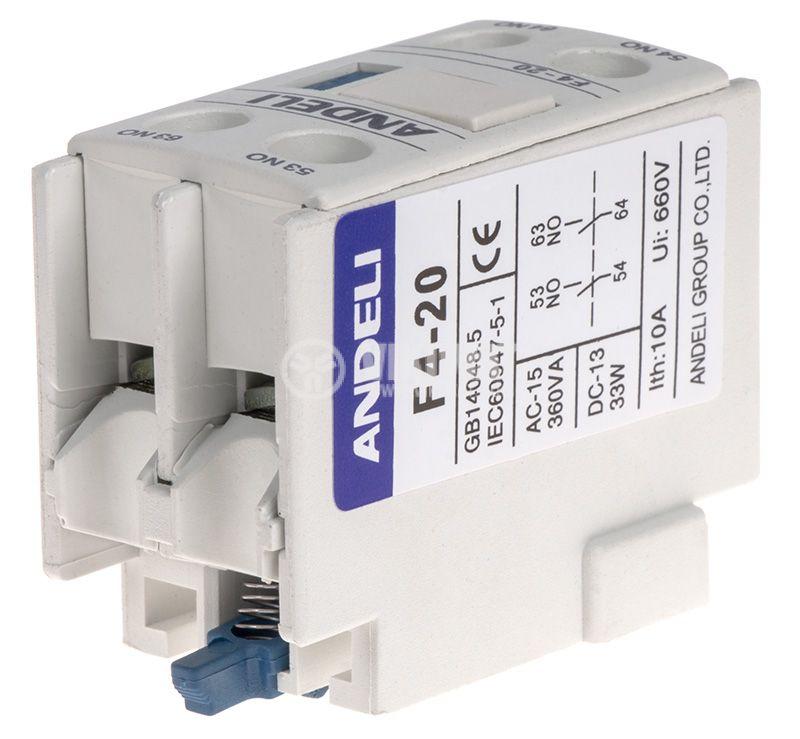 Спомагателен контактен блок F4-20 - 3