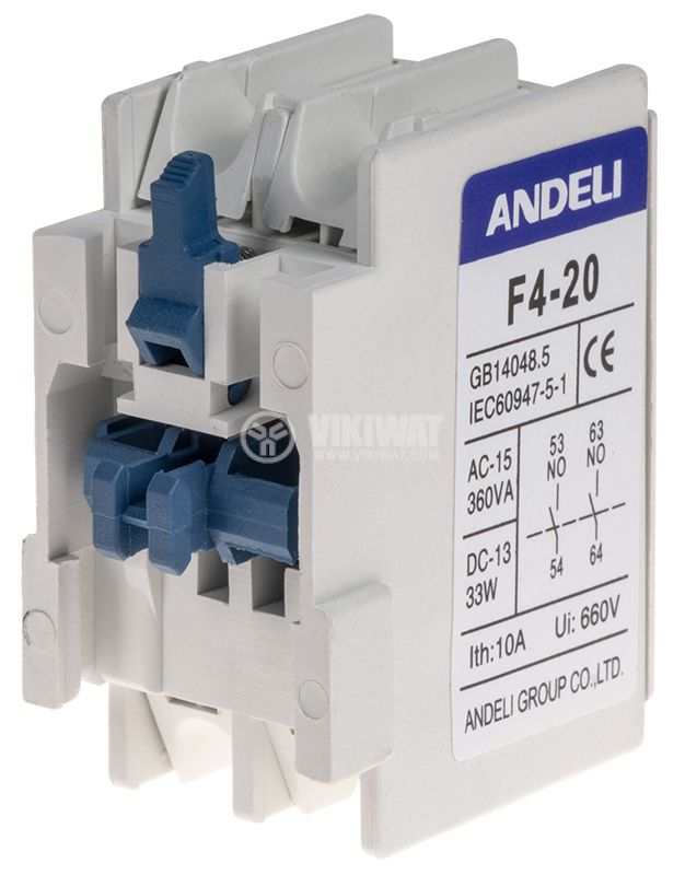 Спомагателен контактен блок F4-20 - 4