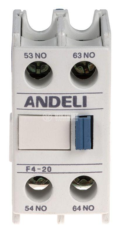 Спомагателен контактен блок F4-20 - 5