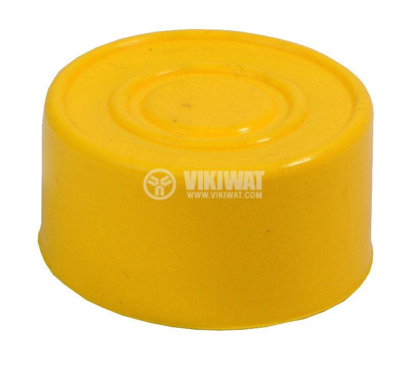 LAY button protection cap BA-R-G silicone yellow - 1