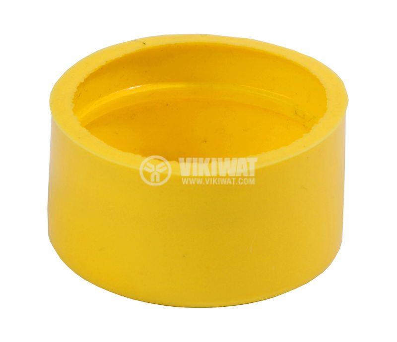 LAY button protection cap BA-R-G silicone yellow - 2