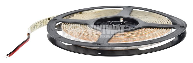 Светодиодна лента LED, 60 диода на метър, син цвят, SMD5050, 12VDC, 14.4W/m, IP65 - 3