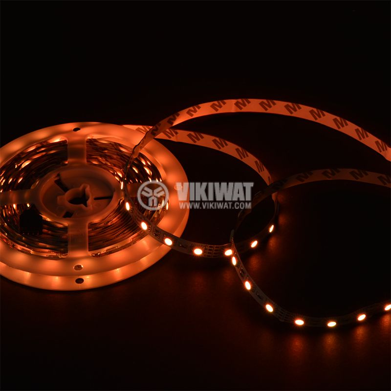 LED strip 60LED/m, RGB, SMD5050, 12VDC, 14.4W/m, IP20 - 11