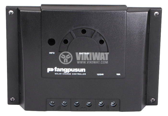 Solar Charge Regulator, 10 A, 12 V / 24 V - 1