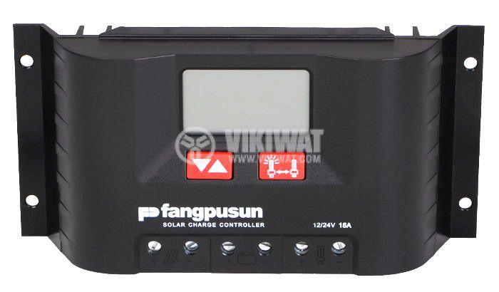 Solar chгarge regulator, 15 A, 12 V / 24 V - 1