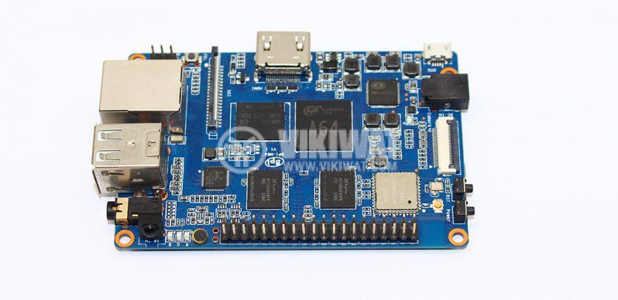 BANANA PI BPI-M64, 1.2GHZ ЧЕТИРИЯДРЕН, 2GB DDR3, SINOVOIP - 1