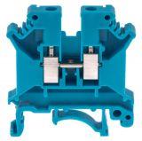 Редова клема, едноредова, SAK 4/EN, 4mm2, 32A, 800V, синя