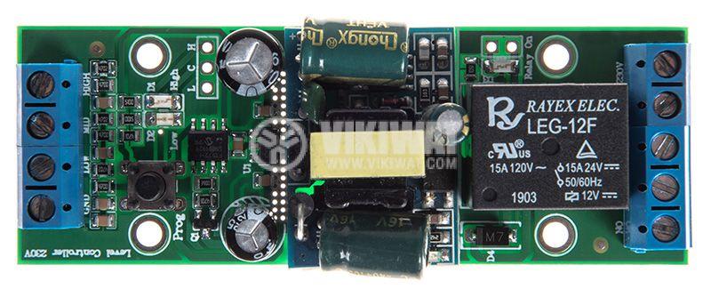 Level regulator for liquids, 230VAC, 7А/250VAC - 3