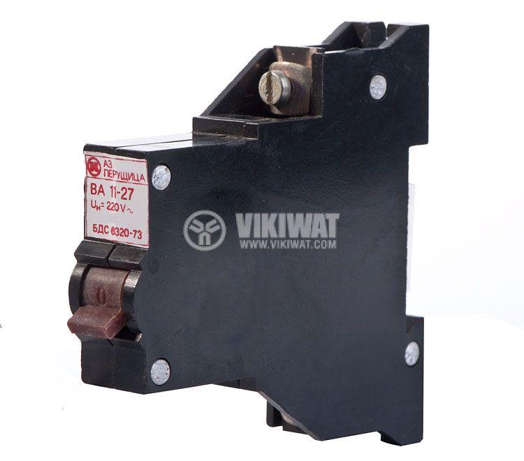 Miniature circuit breaker 1x25A BA 11-27 DIN rail curve C
