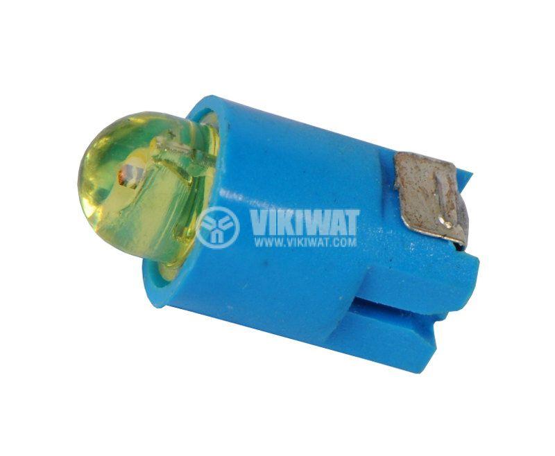 LED диод за бутон LA139, 24VDC, жълт