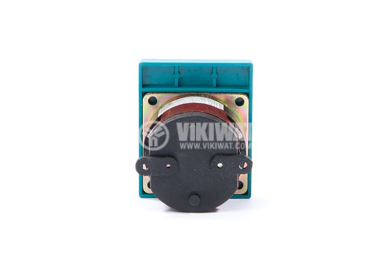 Rotary cam switch, 16А, 250VAC, 1 section, 2 contacts, 3 position, Metop - 3