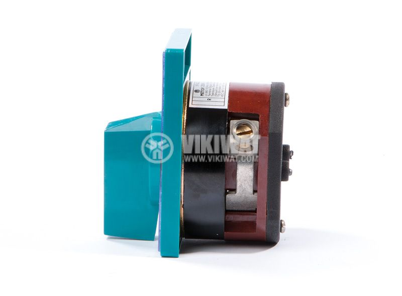 Rotary cam switch, 100А, 250VAC, 1 section, 1 contact, 2 position, Metop - 4