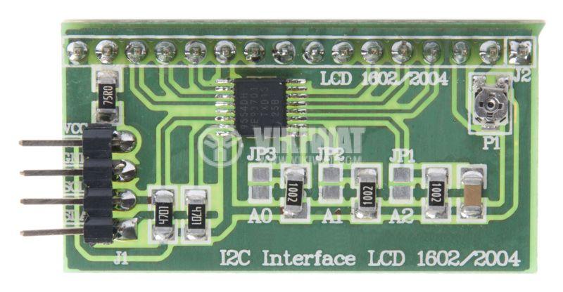 Управление, I2C Интерфейс LCD PCA9554PW - 1