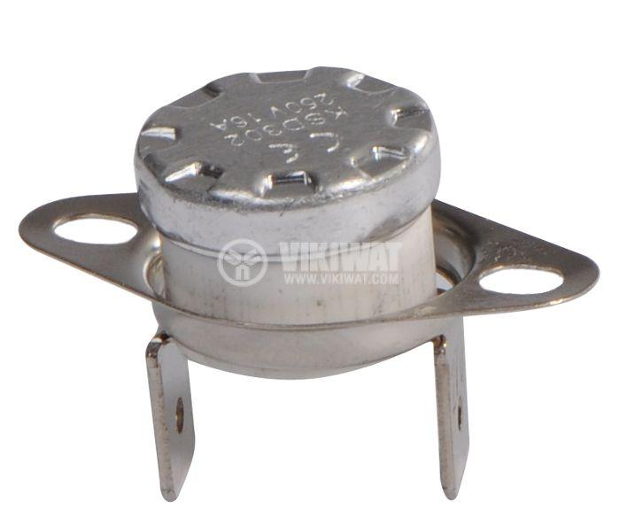 Bimetal Thermostat KSD-302 270°C NC 16A/250VAC