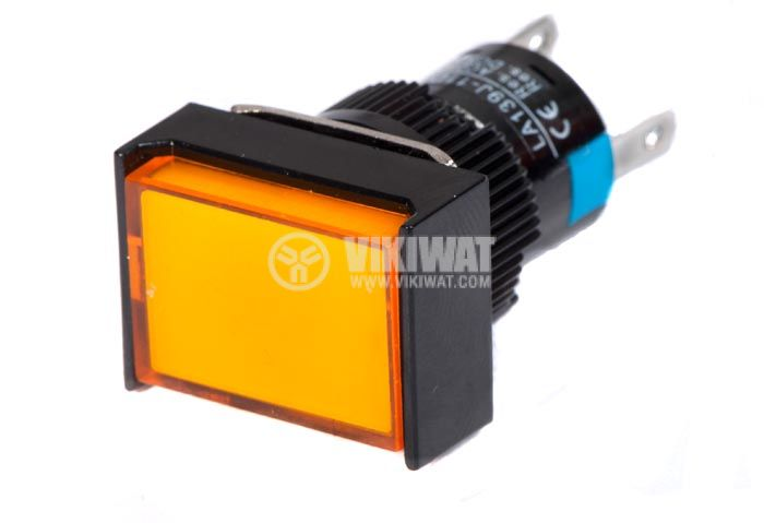 Button Switch type RAFI, LA139J-11D, 24VDC, SPDT-NO + NC - 2
