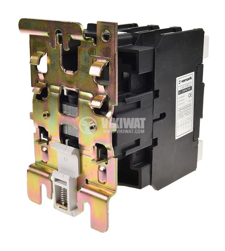 Contactor, three-phase, coil 110VAC, 3PST - 3NO, 40A, CJX2-D40, NO+NC - 2
