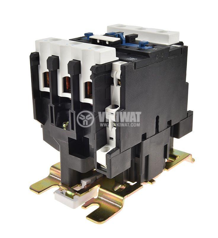 Contactor, three-phase, coil 110VAC, 3PST - 3NO, 40A, CJX2-D40, NO+NC - 3